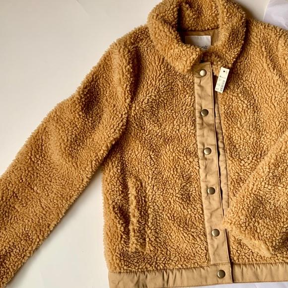 🔆Host Pick🔆Madewell Sherpa Portland Jacket XS